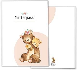 Mutterpass ohne Personalisierung, Fuchs auf der Wiese Mutterpassh/ülle 3-teilig Fuchs auf der Wiese Schwangerschaft Geschenkidee