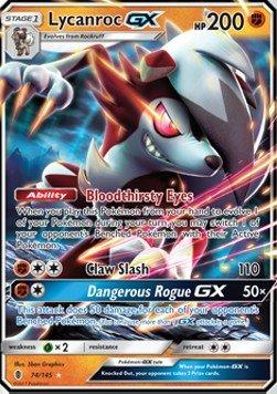 TPCI Lycanroc GX - 74/145 - Inglese - Sun&Moon 2: Guardians Rising