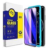 SmartDevil [2 Pack Protector Pantalla de iPhone 11 Pro/iPhone XS/X,Cristal Templado,Vidrio Templado [Fácil de Instalar] [Anti-Luz Azul] [Garantía de por Vida] para iPhone 11 Pro/iPhone XS/X