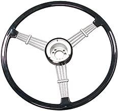 Empi Banjo Style Vintage Steering Wheel Kit, Black