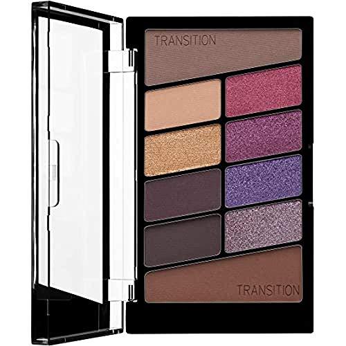 Wet n Wild - Lidschatten Palette Make-up, 10 hochpigmentierte Farben - Mix aus Schimmer + Matt in einer Lidschattenpalette - V.I.Purple, 1 STK. 5g