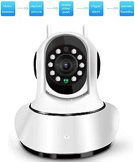 1080P Wifi cámara IP cámara de interior de Vigilancia de Seguridad for el Hogar con 10 M de infrarrojos de visión nocturna admitan la visualización de multi-usuario for el niño/animal/Elder HAOS