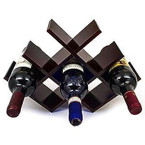 Sorbus Wine Rack Butterfly – Stores 8 Bottles of Wine – Sleek...