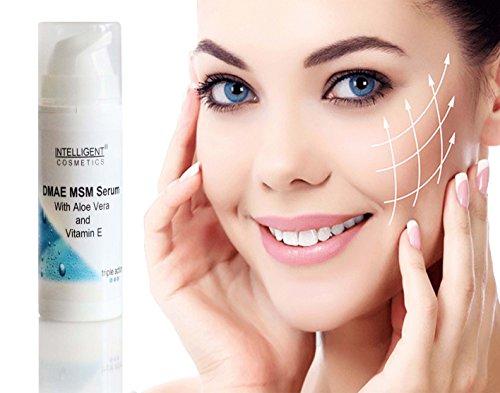 DMAE MSM Anti-Aging-Serum, Anti-Oxidant-Wirkung, gegen Falten, festigend, Collagen Booster 30ml