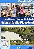 Urlaubsidylle Flevoland - Die jüngsten Polder der Niederlande - Wunderschön! [Alemania] [DVD]