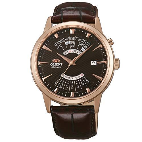 Orient Reloj Analógico para Hombre de Automático con Correa en Cuero FEU0A001TH