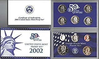 2002 S US PROOF Set In original packaging from mint Proof