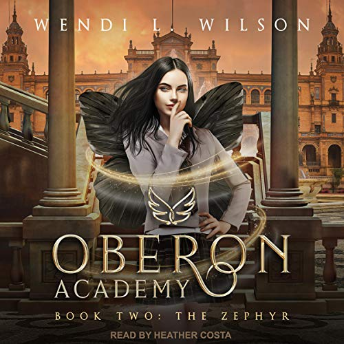 Oberon Academy Book Two: The Zephyr audiobook cover art