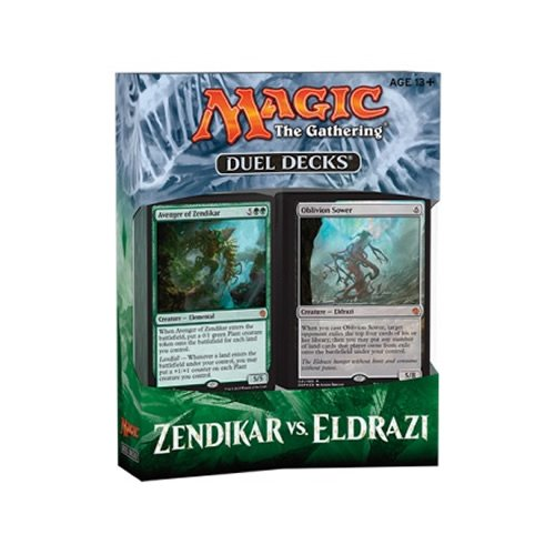Duel Deck Zendikar vs Eldrazi English Ingles