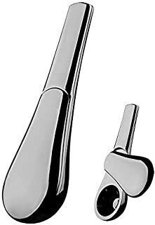 HOOTUBE Innovative Screenless Tobacco Smoking Pipe - Streamlined Design - Easy to Clean (Space Gray)