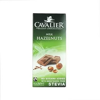 Cavalier - Belgian Milk Hazelnuts Chocolate Bar - 85g (Case of 14)