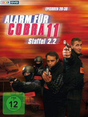 Alarm für Cobra 11 - Staffel 02.2 [3 DVDs]
