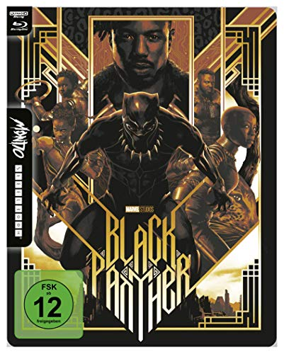 Black Panther - 4K UHD Mondo Steelbook Edition [Blu-ray]