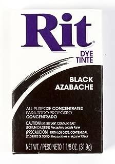 Rit Dye Powder Dye, 1-1/8 oz, Black, 10-Pack