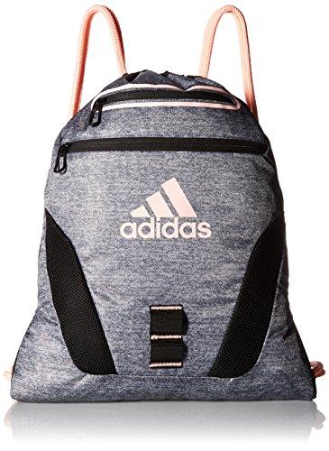 Bolsa ligera Adidas Rumble - 104634, negro (Jersey Onix Print/Haze Coral/Black)