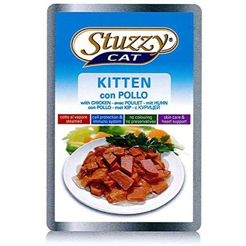 Stuzzy Cat Kitten - Cibo per gatti umido in salsa, 24 sacchetti da 100 g