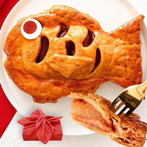 アップルパイ めで鯛 風呂敷包み 誕生日 還暦 内祝い プレゼント お菓子 ギフト【13時までのご注文で即日出荷可能】