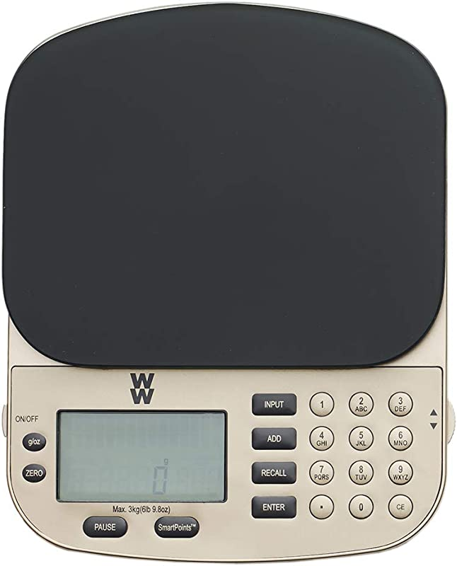 WW SmartPoints Digital Food Scale Kitchen Scale Measures With Ounces And Grams Weight Watchers Reimagined