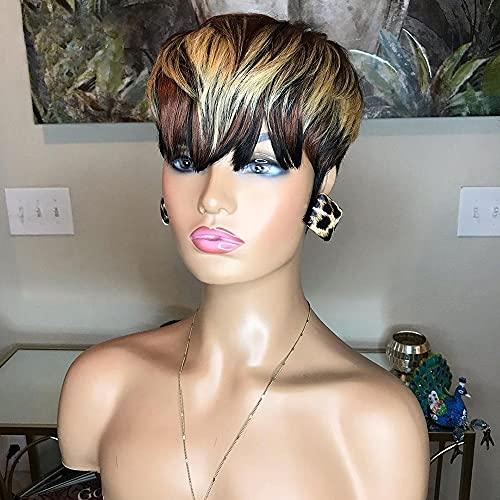 African american short human hair wigs _image1