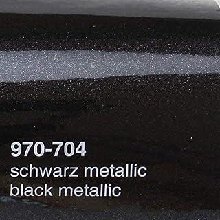 20,33€/m² Oracal 970RA 704 Schwarz Metallic Glanz gegossene Profi Autofolie 152cm breit BLASENFREI mit Luftkanäle