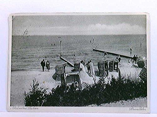 AK Nordseebad Duhnen, Strandleben; Strandkörbe, Badegäste, Cuxhaven; gelaufen 1930
