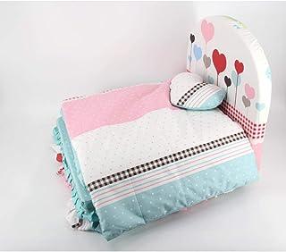 Nfudishpu Soft Pet Nest Washable Dog Bed Romantic Heart Big Dog Bed Folding Kennel