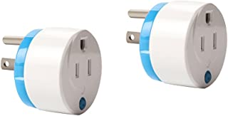 Home Automation Z-Wave Smart Plug,Zwave Appliance Module On/Off Plug-in Outlet with Energy Monitoring (2 Pack) by HAOZEE