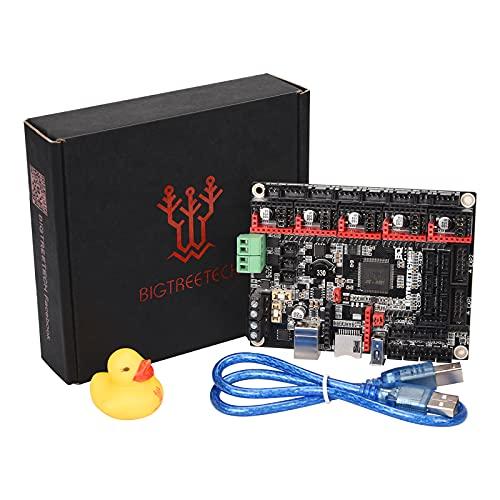 BIGTREETECH SKR 2 kontrollbräda 32 bit kontrollpanelbräda SKR V1.4 Turbo ny uppgradering stöd TMC2209/TMC2208/DRV8825 stegdrivrutin för BIQU B1 Ender 3 V2 Ender 3 Pro 3D-skrivare gör-det-själv moderkort