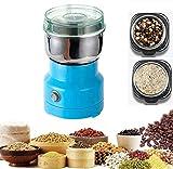 NIONE Multifunction Smash Machine,150W Small Food Grinder Grain Grinder,Stainless Coffee Grinder...