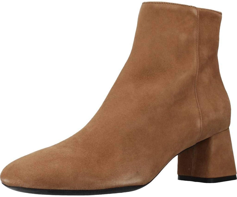 Geox Stiefelleten Stiefel Damen, Farbe Braun, Marke, Modell Stiefelleten Stiefel Damen D828VC Braun