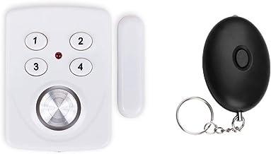 Veiligheidsset = mini-alarm voor ramen, deur en personenalarm – inbraakbeveiliging en persoonlijke beveiliging.