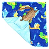 Soft Bearded Dragon Blanket with Pillow for Bearded Dragon Leopard Gecko Lizard Bath Towel Wrap to Snuggle or Sleep 18 × 18 Inch