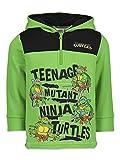 Nickelodeon TMNT Ninja Turtles Toddler Boys Half-Zip Fleece Pullover Hoodie...