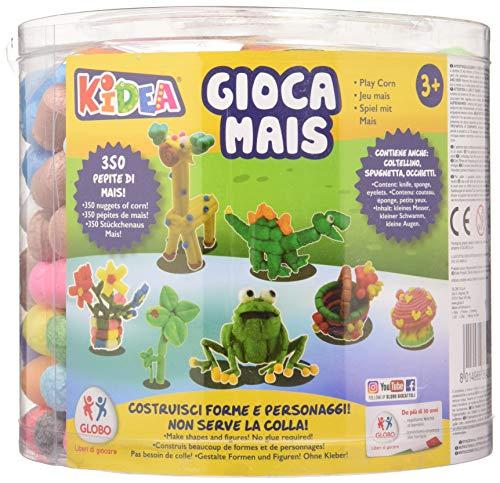 Kidea - Cubo construcciones maíz, 350 piezas (Globo 36428)