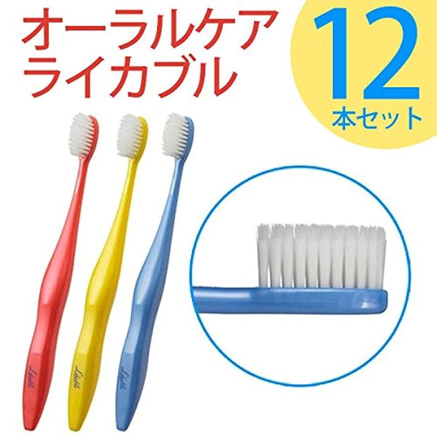 戸棚賛辞それからライカブル ライカブル メンテナンス用 歯ブラシ 12本セット