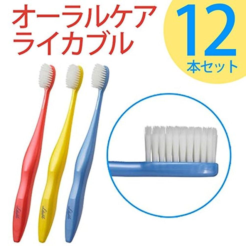 シャッフルタイル慣れているライカブル ライカブル メンテナンス用 歯ブラシ 12本セット