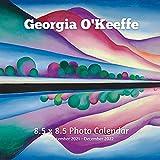 Georgia O Keeffe 8.5 X 8.5 Calendar September 2021 -December 2022: American Precisionism -Modern Art - Monthly Calendar with U.S./UK/ Canadian/Christian/Jewish/Muslim Holidays- Art Paintings