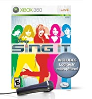 Disney Sing It Bundle with Microphone