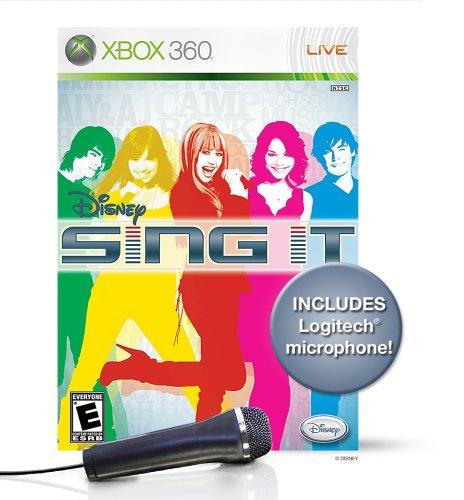 Disney Sing It Bundle with Microphone -Xbox 360