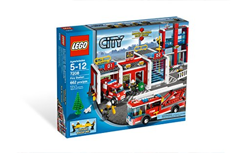 Lego City 7208 Fire Station