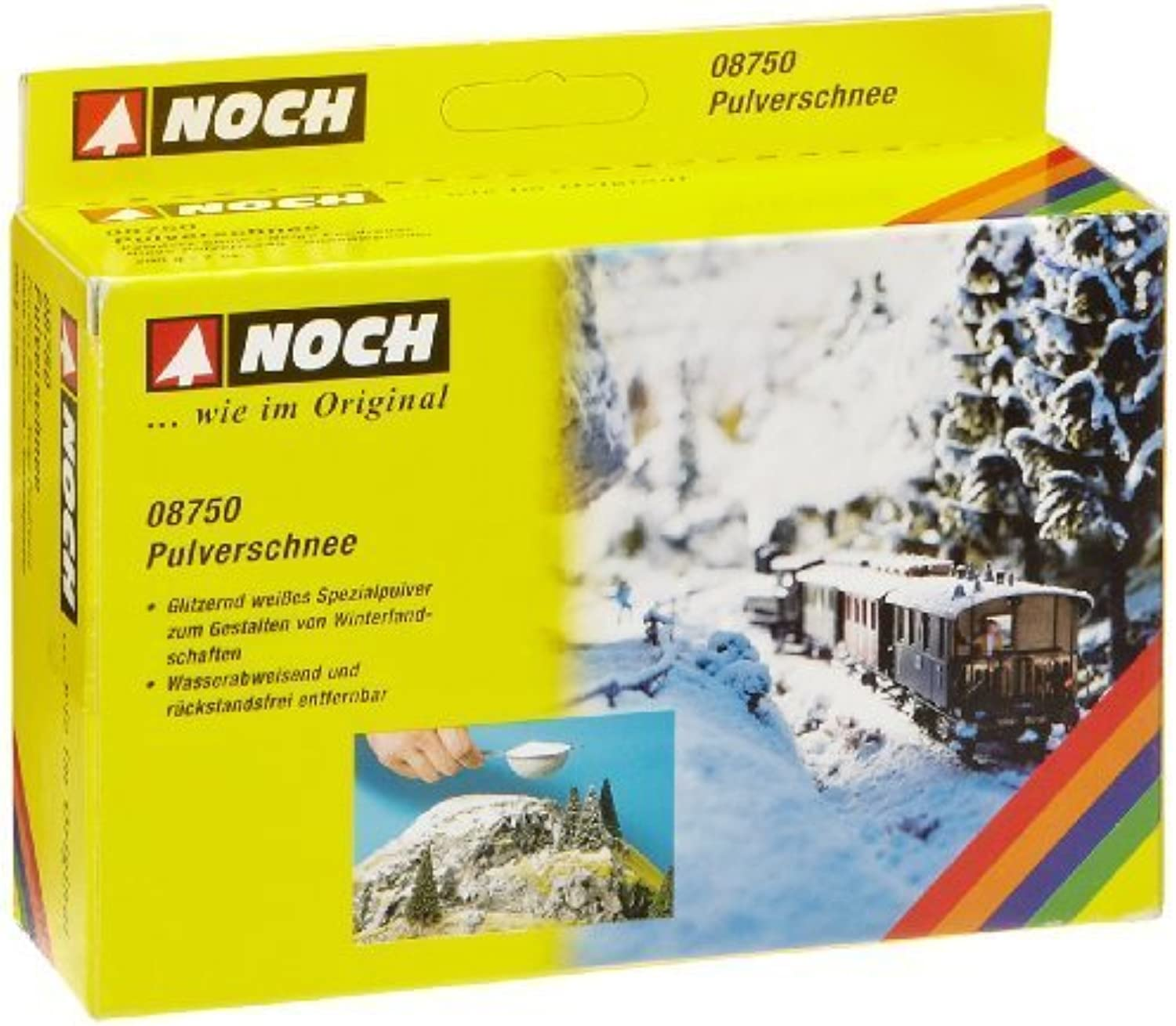Noch 8750 Powdery Snow 200g by Noch nonbtm1123-new toys