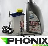 esgi Auto Válvula de gas Protección Starter Set Válvula Lubricación para botella Incluye 1L Valve Saver Fluid FlashLube alternativa