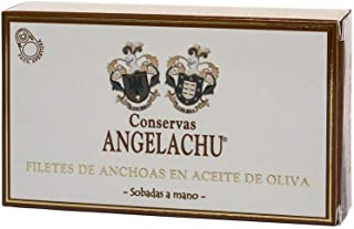 Filetes de Anchoa del Cantábrico en Aceite de Oliva Angelachu