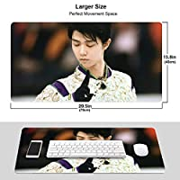 オードリーヘップバーン マウスパッド 光学マウス対応 パソコン 周辺機器 超大型 防水 洗える 滑り止め 高級感 耐久性が良いOne Size
