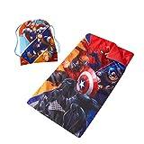 Marvel Avengers Sling Bag Slumber Set Multi, 30'x54'