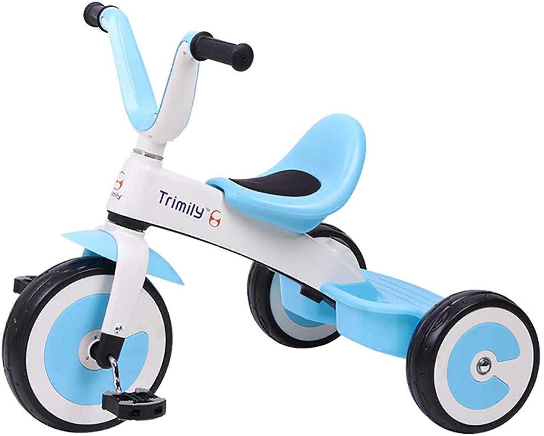 Todo en alta calidad y bajo precio. DDMD Pedal de Triciclo Marco de aleación aleación aleación de magnesio para Niños, 3 Ruedas, Asiento Ajustable, para Niños de 2 a 6 años y Niños pequeños - 90-120 cm,azul  presentando toda la última moda de la calle