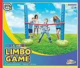 Aufblasbares Limbo-Stangenständer-Set, für drinnen und draußen, Garten, Strand, Spaß, Balance-Spiele, Familienparty, Spielzeug für Kinder ab 5 Jahren