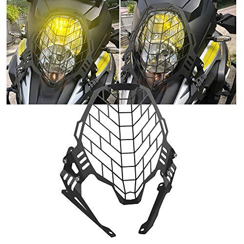 vstrom 1000 Motorrad Aluminium Scheinwerfer Abdeckgitter Schutz für Suzuki V-Strom 1000 2017-2019 DL1000 2017-2019