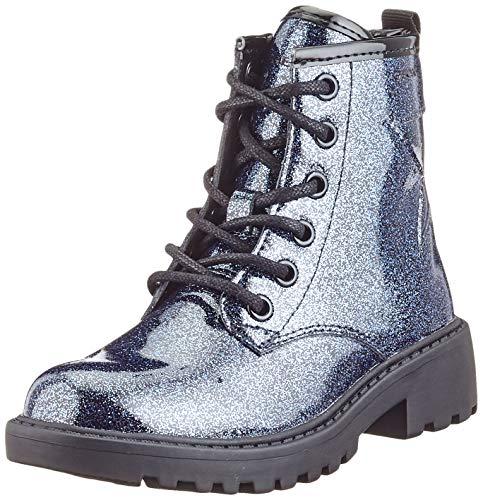 Geox J CASEY GIRL G Ankle Boot, Navy, 28 EU