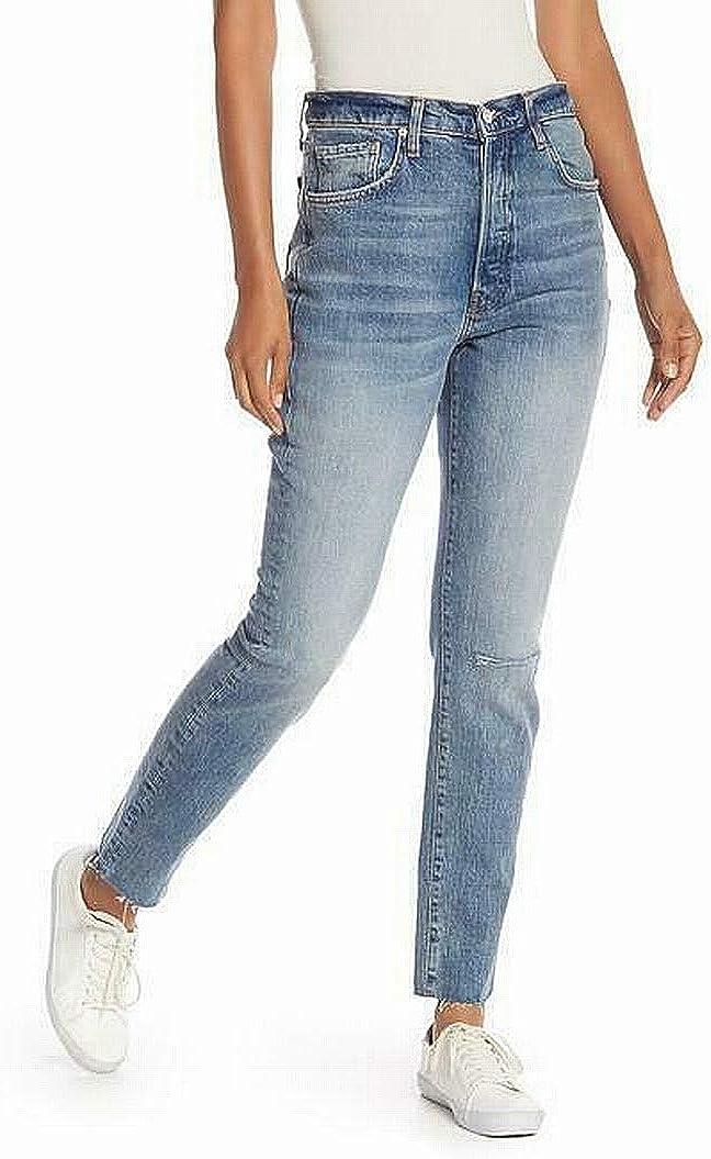 Free People Jeans Stella Skinny - Indigo Blue